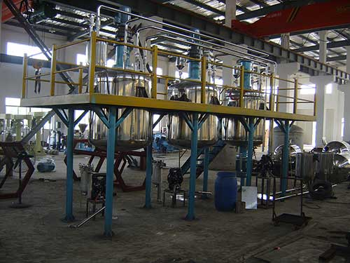 Automotive Lubricants Blending Plant