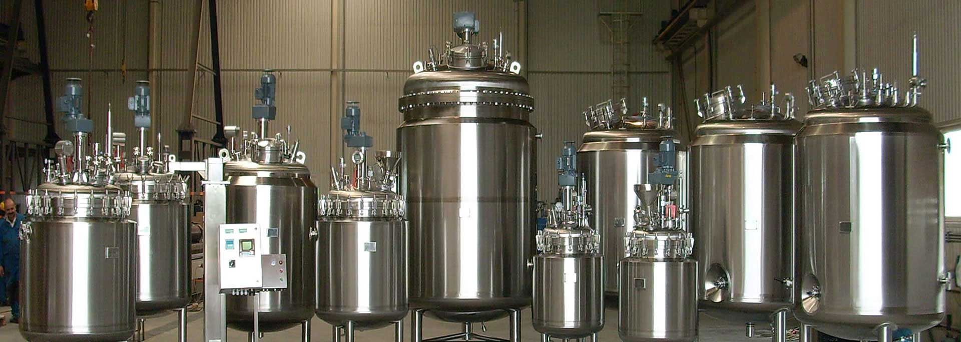 Stainless Steel Mixing Tank And Vessels