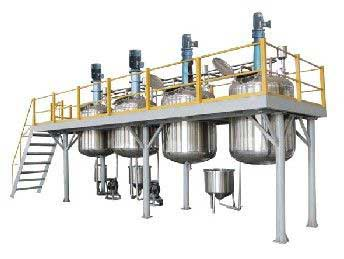 3000T Complete production line Configured With horizontal sand mill From India