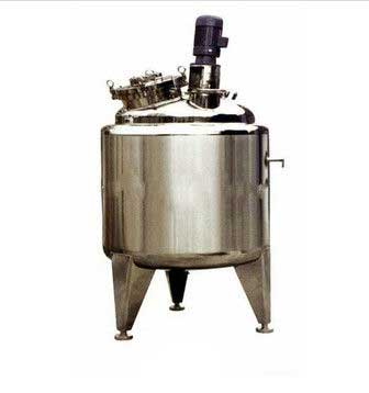 Agitator Stainless Steel Mixing Tank for chemical food With lifting lugs From India