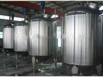Anti corrosion Stainless Steel Mixing Tank With Agitator, ss storage tank From India