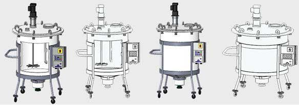 Chemical liquid Stainless Steel Mixing Tank With automatic mixing control From India