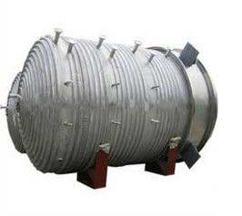 Chemical reactor Coil Heating With lifting lugs or supporting legs India