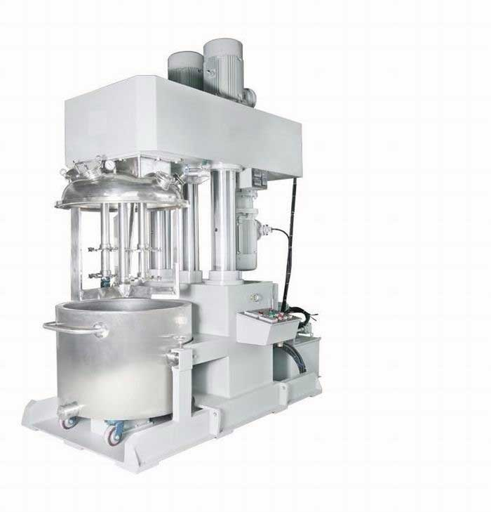 High Viscous Solvent Adhesive production line with double planetary mixer From India