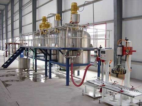 Latex paint Production Line Equipment 1000T with vacuum feeding From India