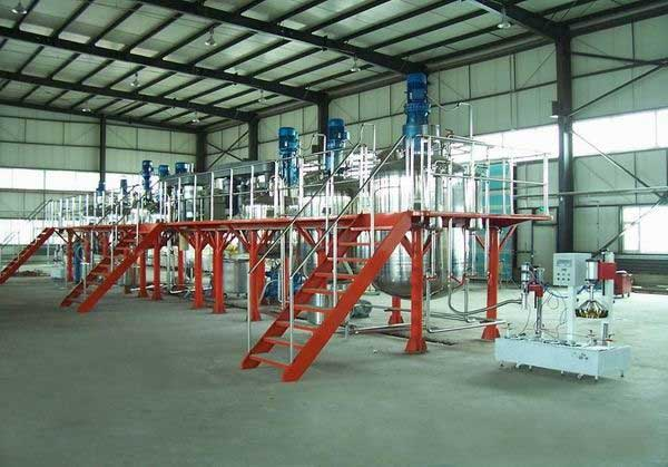 Less human operation Complete production line For Latex paint From India