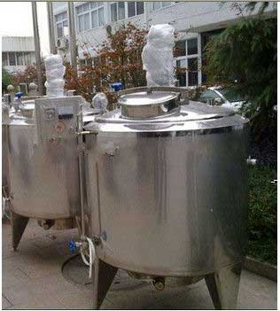 Resin polymerization stainless steel mixing vessels / Mixing Tank From India