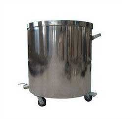 SS 316L 304 Paint jacketed mixing tank With Mirror polishing From India