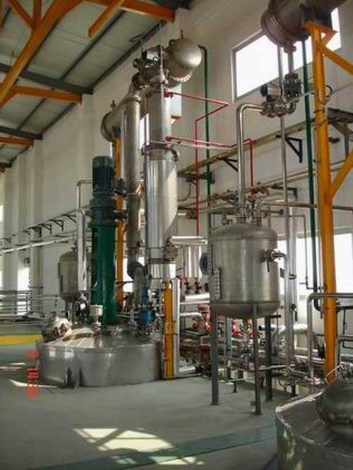 SS Resin production Process line Accurate dosing metering With mixing agitator From India