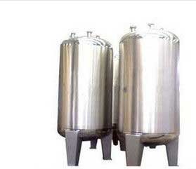 SUS304 Stainless Steel Liquid Storage Tank With mirror polishing From India
