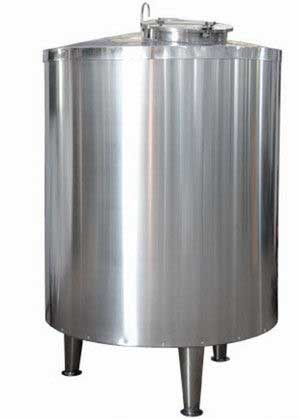 SUS304 Mo2Ti Storage Stainless Steel Mixing Tank 1000L - 100000L From India