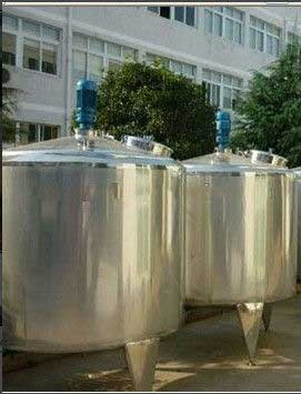 Vacuum Stainless Steel Mixing Tank with agitator, mixing vessels From India