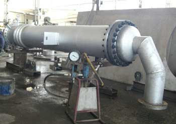 Heat Exchanger with Expansion Bellows