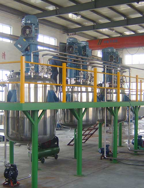 Motor And Engine Oil Blending Plant