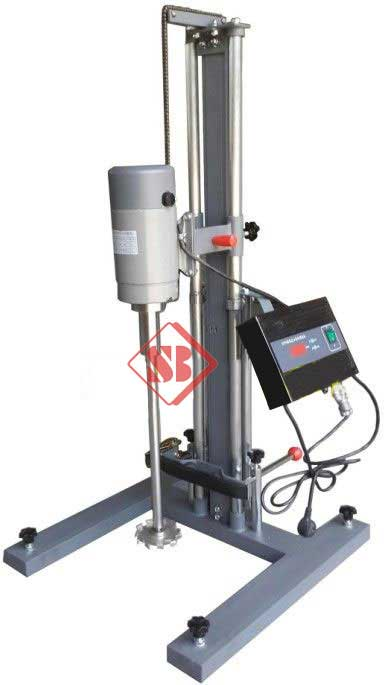 Color paste Lab High Speed disperser for 1100KW various speed control From India