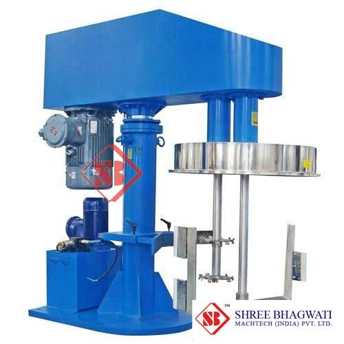 Double Shaft Compound high speed dispersion mixer 100L 400L From India