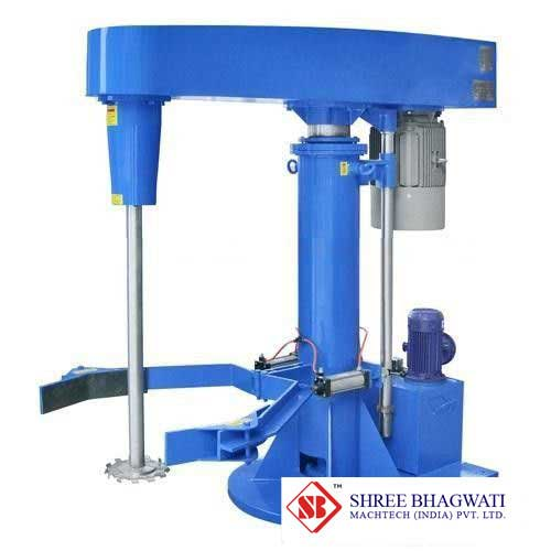 Hydraulic Lifting High Speed Disperser custom made for fine chemicals From India