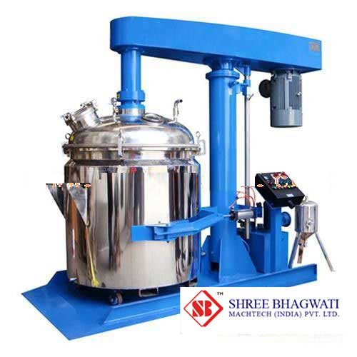 Industrial Mixing High Speed Dispersion Machine With hydraulic lifting From India