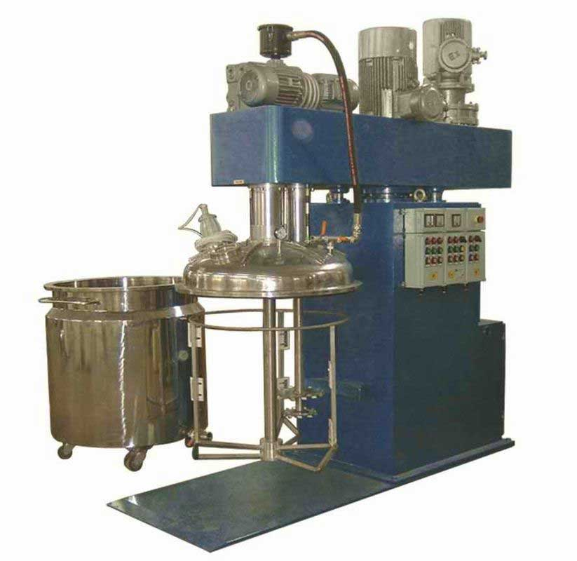 Industry YRSJ automatic dual shaft High Speed Disperser For printing ink From India