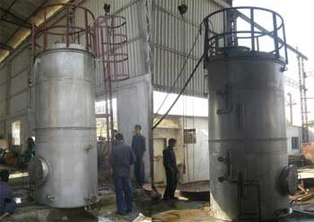 10 KL Vertical Storage Tank