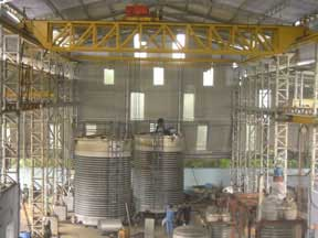 50 KL Vertical Storage Tank